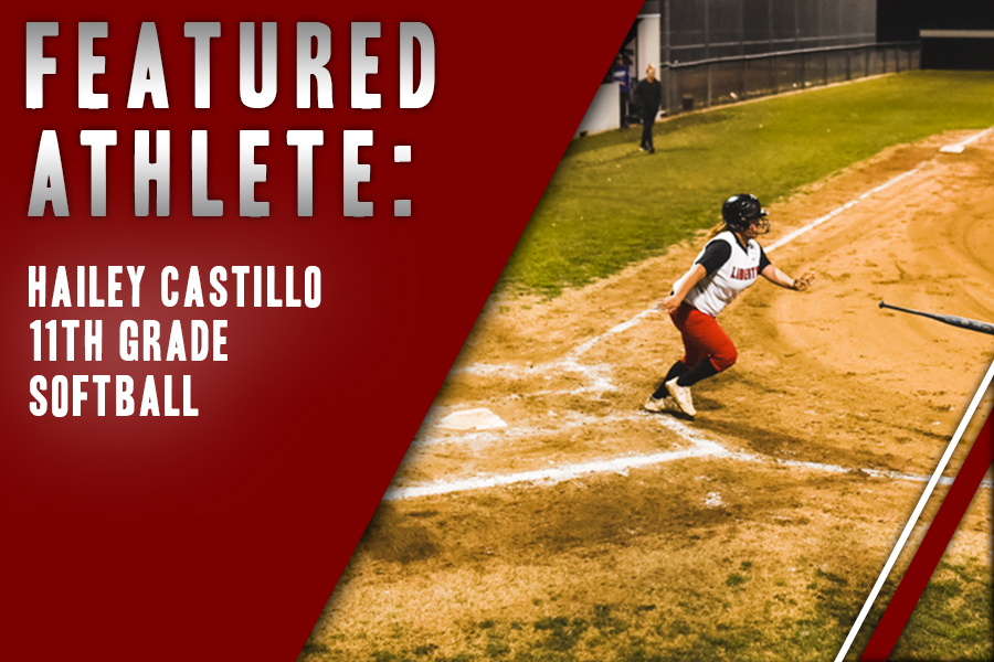 Junior Hailey Castillo prepares to run the bases after getting a hit. Keeping a team balance is an important part of the sport for Castillo.