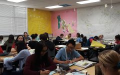 AP Human Geography students hope practice makes perfect