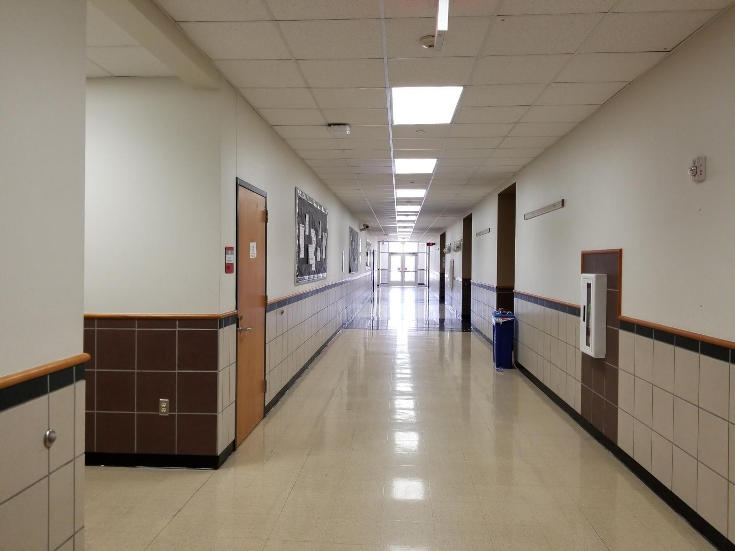 The school's hallways will be emptier than usual Wednesday morning as students not taking STAAR or AP tests do not have to arrive until 12:30 p.m. Students with AP tests must still arrive before the times of their tests.