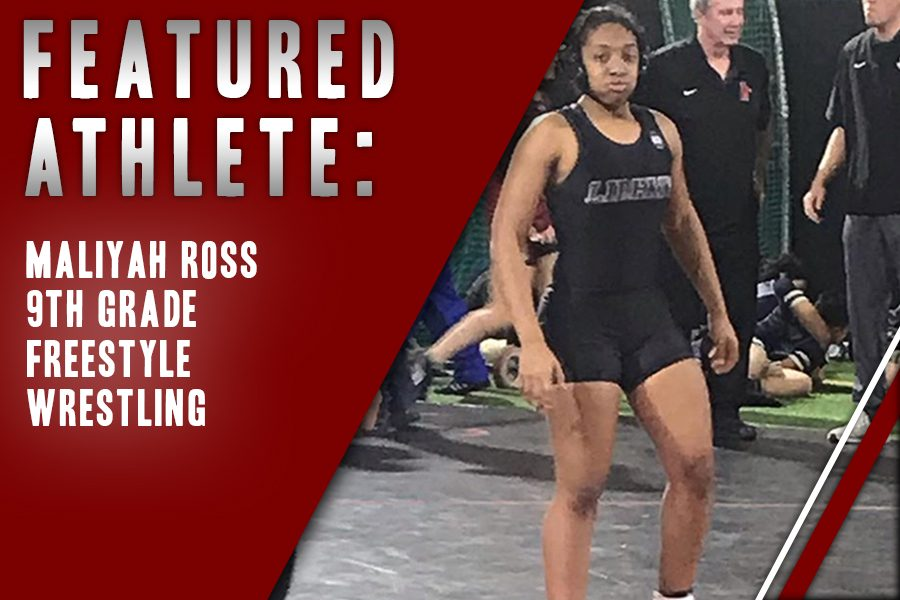 Freshman+wrestler+Maliyah+Ross+walks+away+after+completing+a+wrestling+match+at+Coppell+High+School.+Ross+also+participates+in+freestyle+wrestling+outside+of+traditional+wrestling%2C+returning+from+the+state+competition+last+weekend.