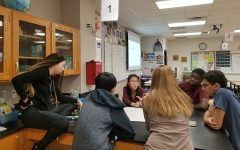 Biology uses COVID-19 as part of their curriculum