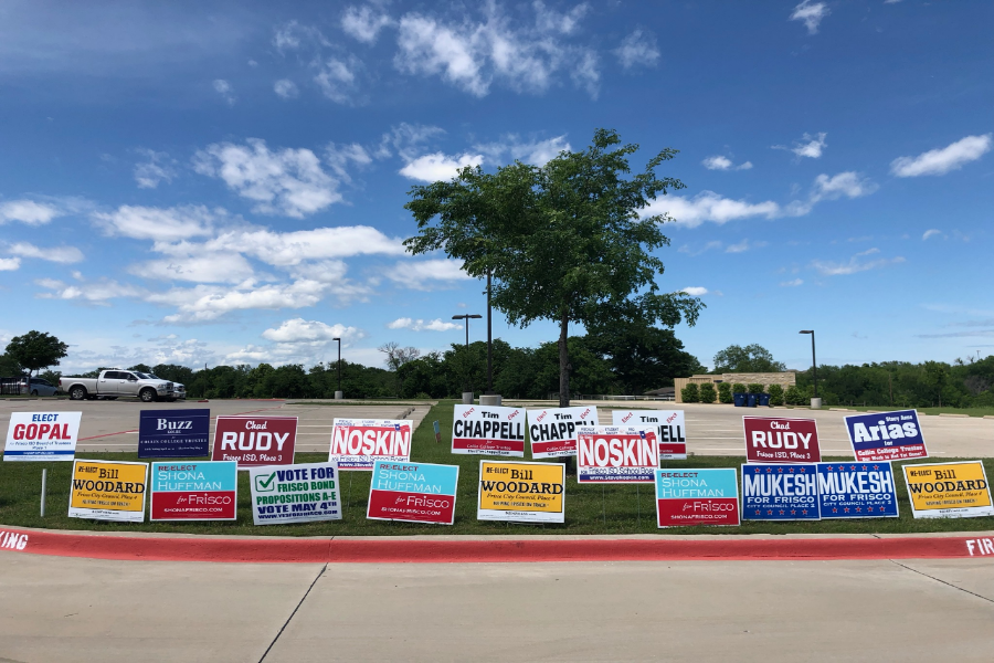 Early voting is over for May's local elections with the final chance to vote Saturday from 7 a.m. - 7 p.m.   Among some of the positions on the ballot are Frisco ISD board positions as well as spots on the Frisco City Council.