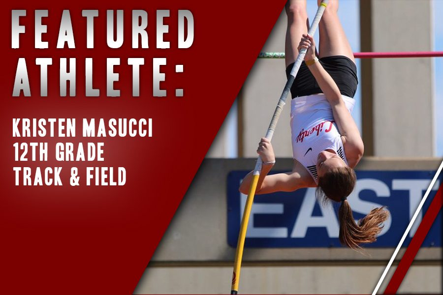 After getting a start in gymnastics, senior Kristen Masucci decided to give track and field a shot. She now participates in pole vaulting and enjoys being on the Redhawk team.