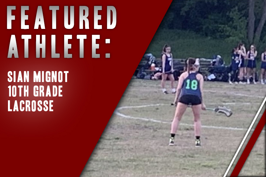 After getting a start in the sport with a close friend, sophomore Sian Mignot has stuck to the sport of lacrosse since then. Through the sport, she has created strong bonds with her teammates and feels like they are a family.