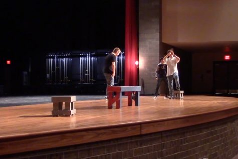 Theater students bring Halloween to life