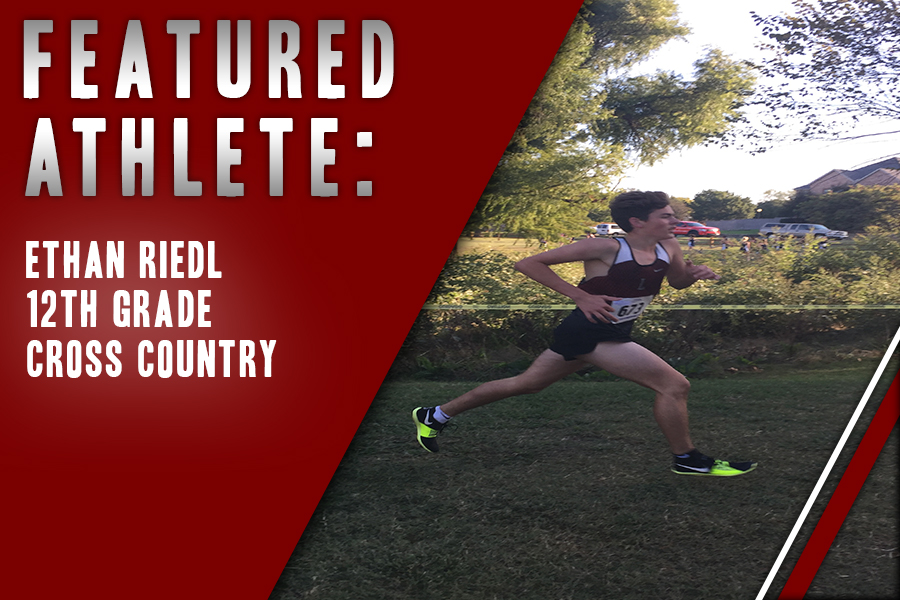 Running cross country since seventh grade, senior Ethan Riedl is in his fourth and final year in the sport. For Riedl, he has found his passion in the sport not only for the competition but for the personal connections with his teammates.