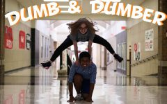 Senior Emily Vetvick and junior Michael Martin will discuss anything from shower thoughts to high school in their podcast, Dumb & Dumber.