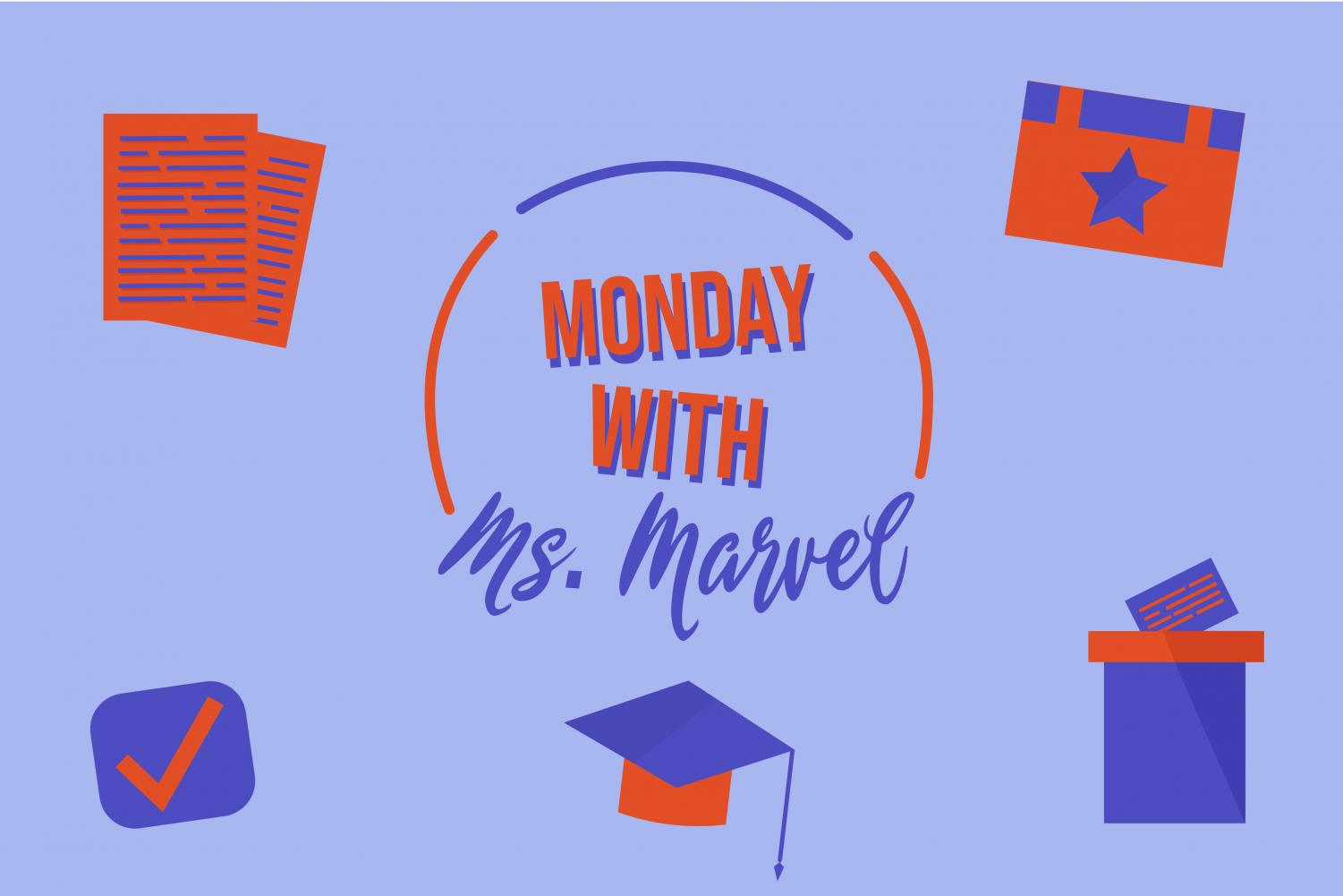 In her weekly column, Monday with Ms. Marvel, Wingspan's Trisha Dasgupta reviews different political issues and relatable topics in everyday life.