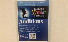 Curtains open for Matilda auditions