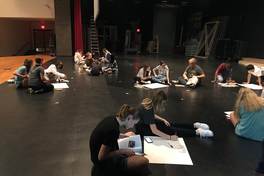 Matilda's opening night will be December 5th, and students are getting ready to find out their roles. The final step of the audition process is Thursday.