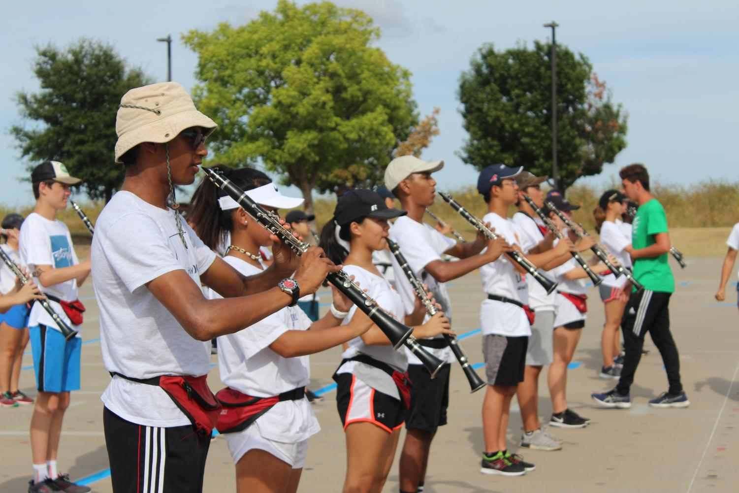 The band has been preparing all season, to perform at their UIL competition this Saturday. The band hopes to showcase their cumulative effort throughout the year, and hopefully make their way to state.