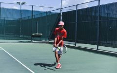Team tennis swings into district play