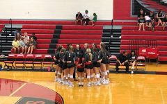 Seeking its 4th straight district win, volleyball hosts Memorial at The Nest