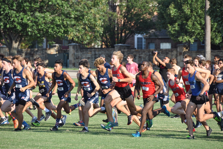 Three athletes finished in the top ten with senior Zach Moore placing third with a time of 16:58:58, junior Sumukh Sakish placed sixth with a time of 17:08:01 and senior Jahson Ferguson finished ninth in a 17:16:12 run.