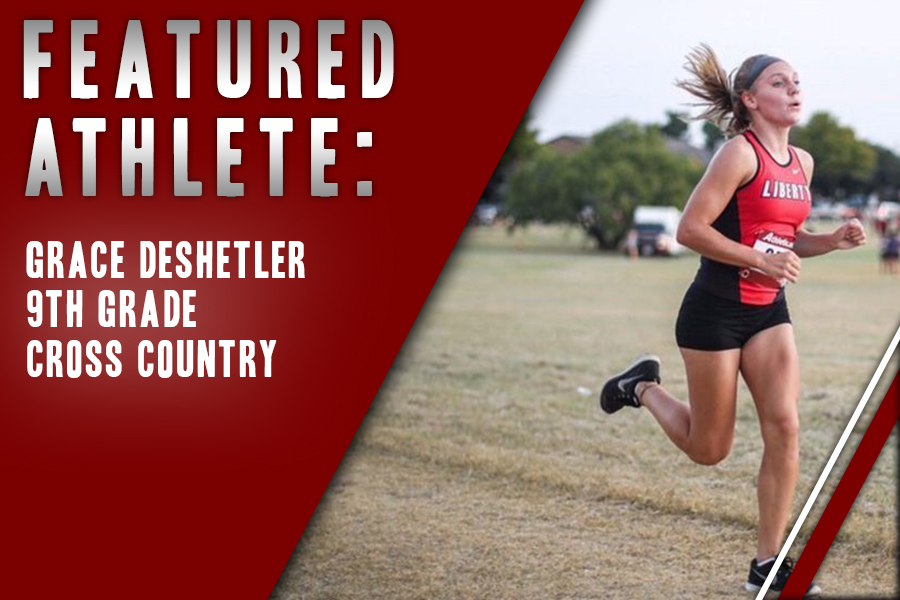 Freshman Grace Deshetler is kicking her high school career off with a running start in cross country. Deshetler likes the ability teammates to push each other in the sport, and plans on running all throughout high school.