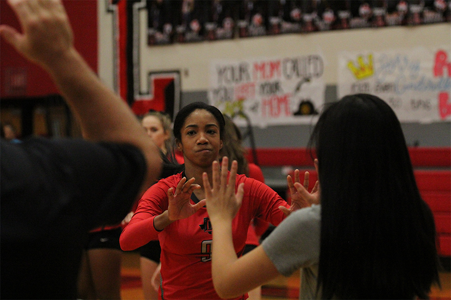 With just one game left in District 9-5A play, the Redhawks kept their streak alive on Friday, Oct. 25, 2019, against Heritage making it their 17 straight win.