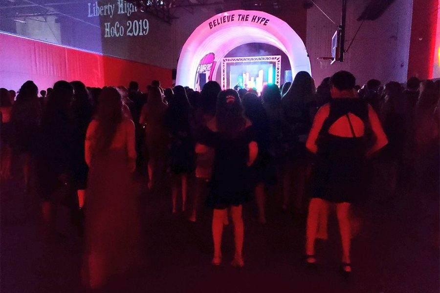 The annual Homecoming dance was Saturday, Sept. 28, 2019, from 7:30 to 10 p.m. With the theme being High School Hype, approximately 400 tickets were sold to the dance.