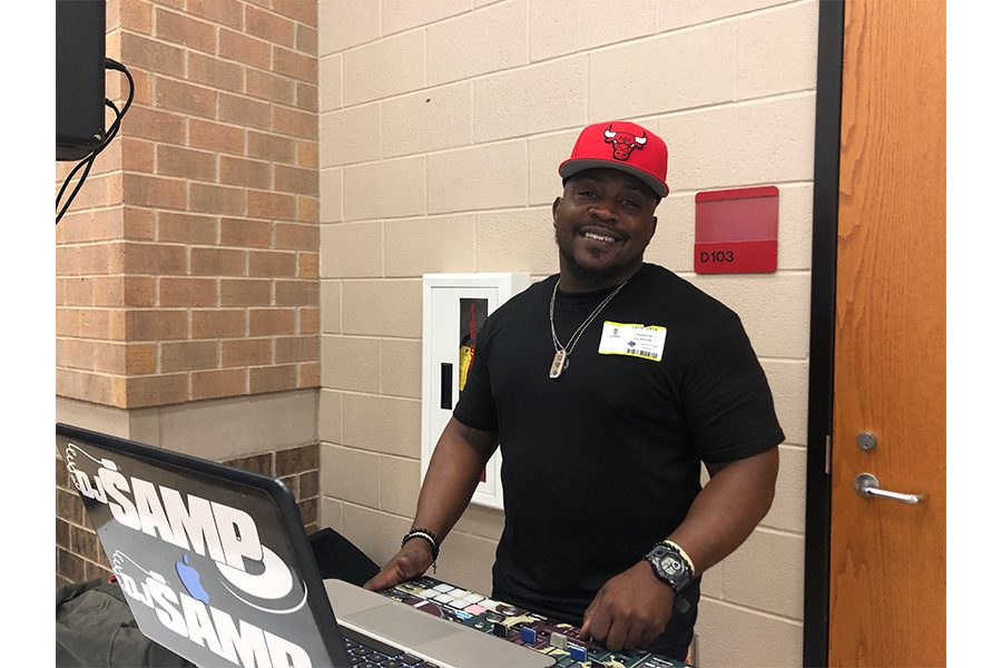 Lunches today were out of the ordinary as students were in for a treat. The DJ for homecoming made an appearance to get students hyped for the dance on September 28.