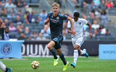 Although New York City FC player and former Redhawk, Keaton Parks now lives in New York, he is going to be back in his hometown of Frisco for a game against FC Dallas Sunday at 5 p.m.