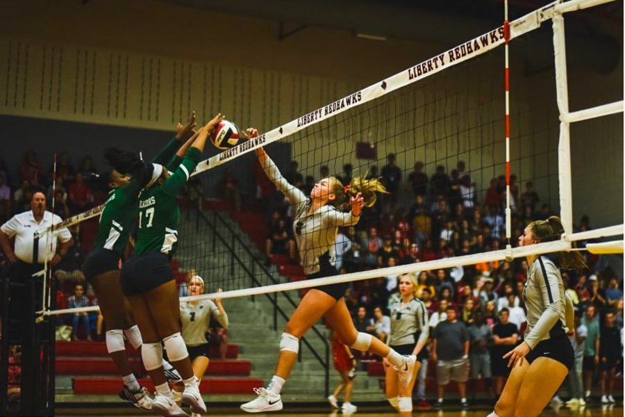 Volleyball looks to score big against memorial after a tough loss to Reedy High School. The team takes on the Memorial Warriors at 6:45 p.m. at The Nest.