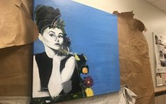 Audrey Hepburn makes her debut on campus