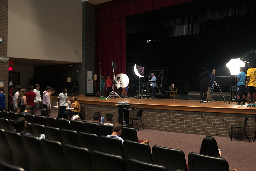 Souther Images Photography School returns to campus with yearbook picture retakes being on Monday in the auditorium. All freshmen, sophomores, and juniors are eligible to have their picture retaken.