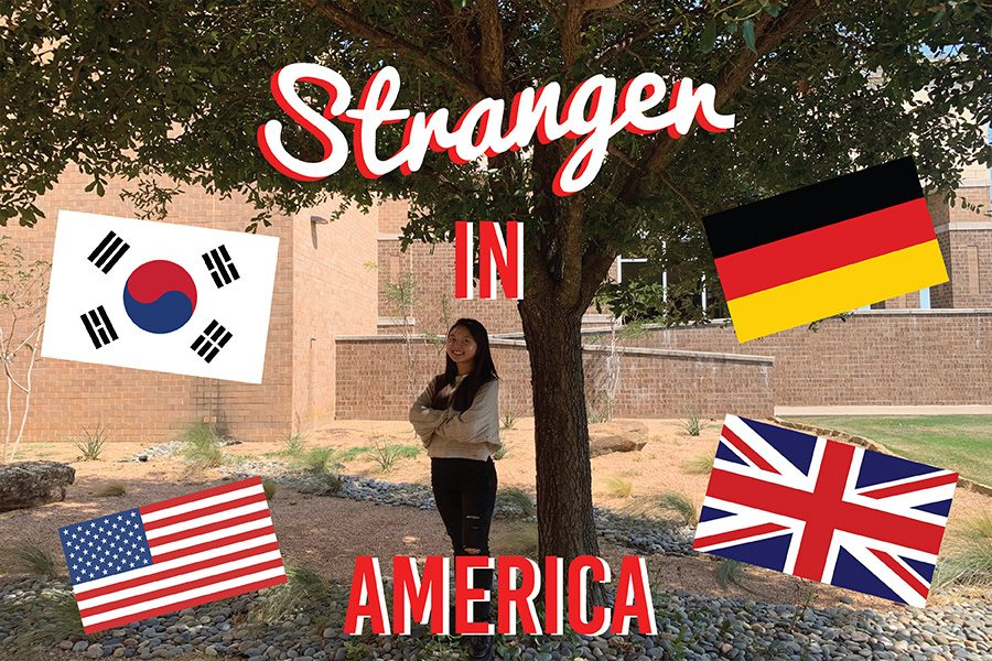 Originally from South Korea, and then moving to England, Germany, then Florida, and finally Texas, sophomore Stephanie Chung talks about all the new things in her life as she embarks on her journey as a Stranger in America.