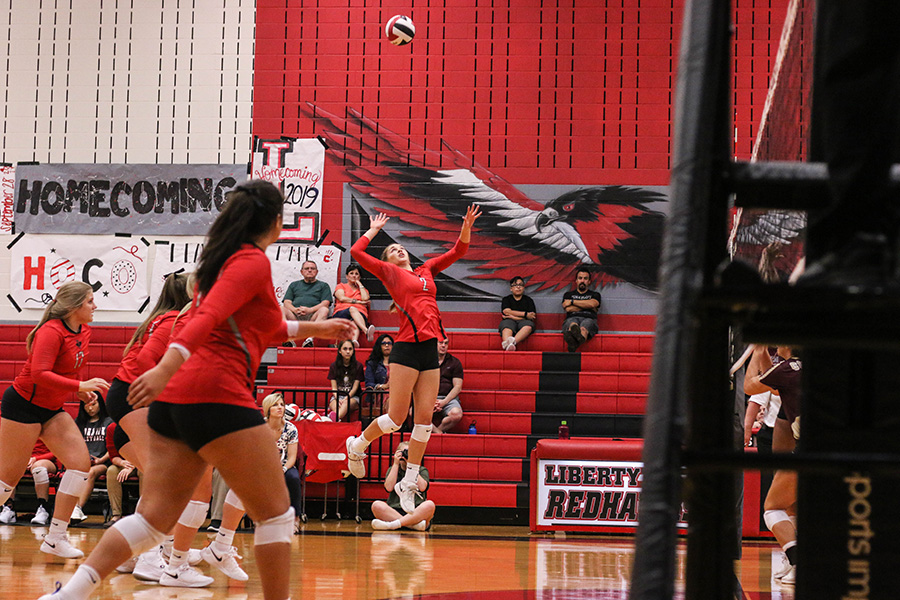 Moving into the second round of playoffs, volleyball will go up against R.L. Turner at Berkner High School on Tuesday, Nov. 7, 2019.