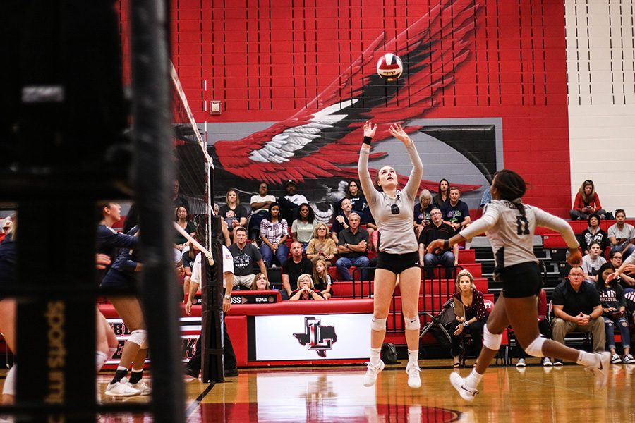 As the volleyball team continues on through their pre-season schedule, the team seeks out another win for the Redhawks. The team came out 3-1 in their last tournament and hope to increase their score.