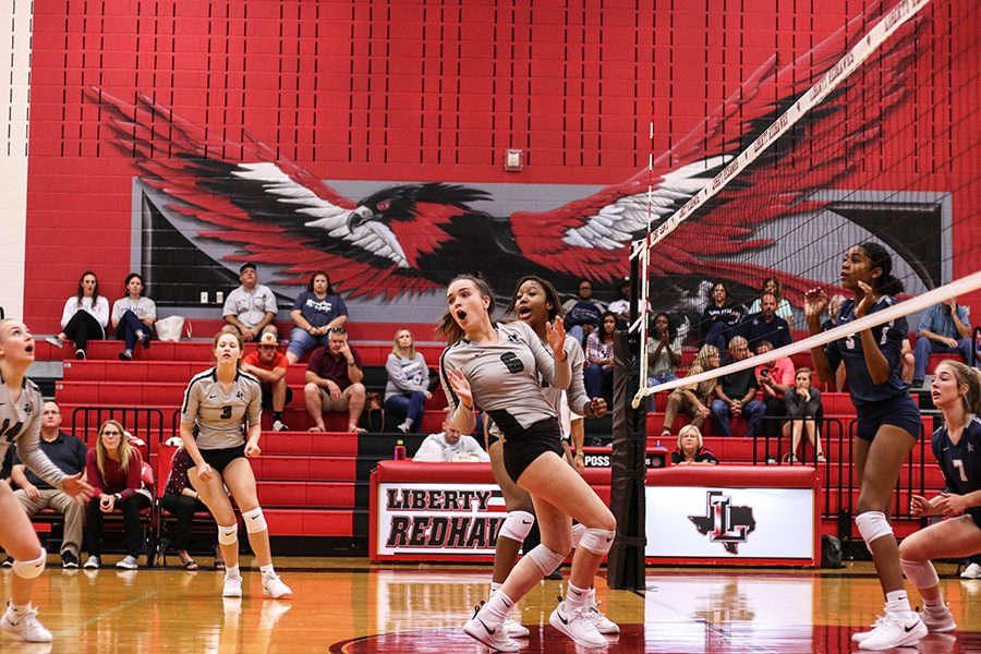 Junior DD Bova Ford and her teammates have been battling all season to keep their perfect record in place. The team took a monumental step this season, by beating Wakeland at their home court for the first time in 6 years.