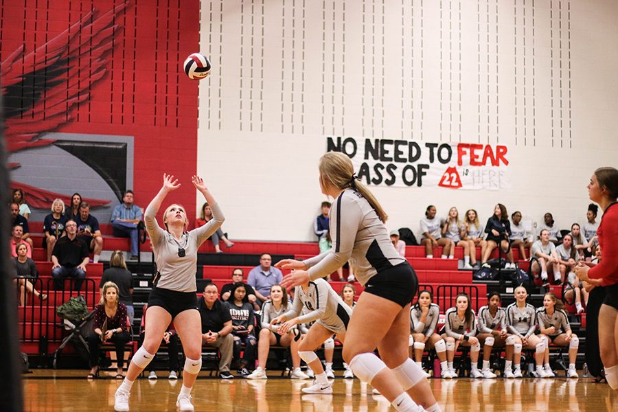 One+door+closes+for+the+Redhawks+as+another+one+opens.+The+volleyball+team+brought+home+a+3-1+in+in+their+final+non-district+match+of+the+season+but+the+team+begins+preparations+for+district+season.