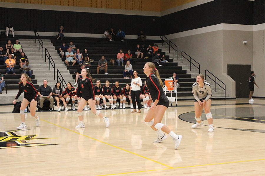 The Redhawks cruise through district 5-9A with an undefeated season, and are now working their way through playoffs. In their Tuesday match against Lovejoy, the team looks to take down Lovejoy, another team with an undefeated record, and continue their playoff season.