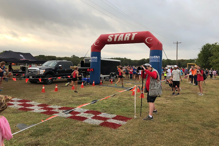 With multiple top finishers from the cross country meet Saturday, the team gears up for their final meet before districts. The team will compete on Thursday in the Lake at the Race.
