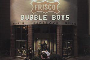 Frisco Bubble Boys: winter break