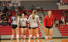 Redhawk volleyball players recognized across Frisco ISD