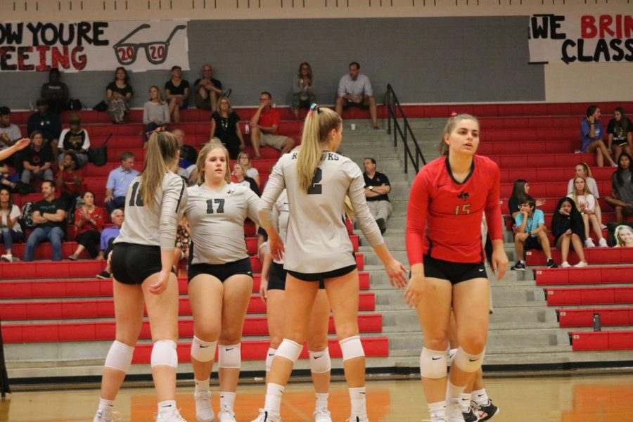 Volleyball set to rumble with Rangers
