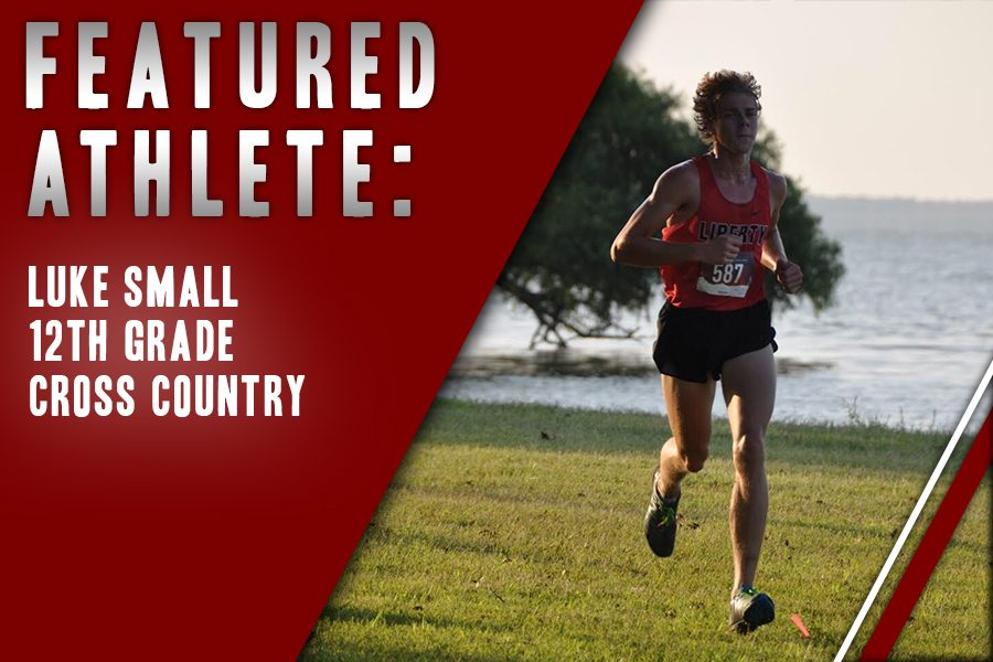 Participating+on+the+Redhawk+Cross+Country+team+for+the+last+four+years%2C+senior+Luke+Small+appreciates+the+sport+for+it+is+something+he+can+look+forward+to+in+the+morning.