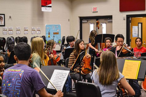 Two orchestra students on campus, both of whom were selected to advance from the preliminary round of the Coleman Chamber Music Competition, will have a chance to win the People's Choice Award.