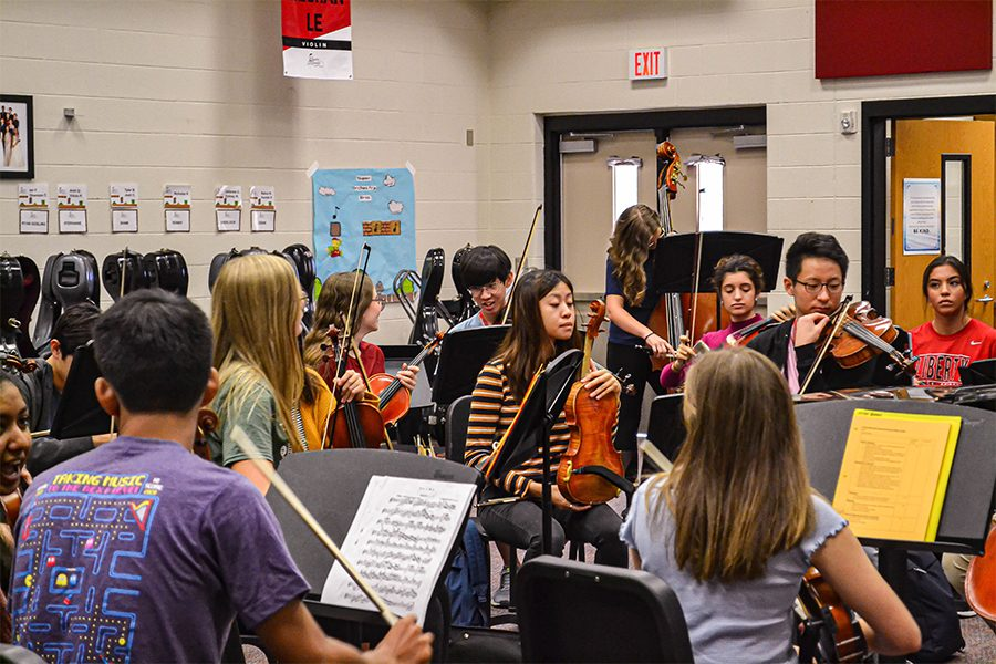 Seven orchestra students to perform in Texas All-State ensemble
