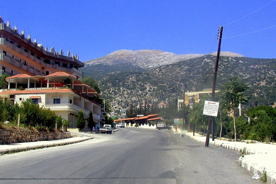 Mount+Aqraa+%28Mount+Casius%29+overlooking+the+town+of+Kasab+in+the+province+of+Latakia+in+Syria.