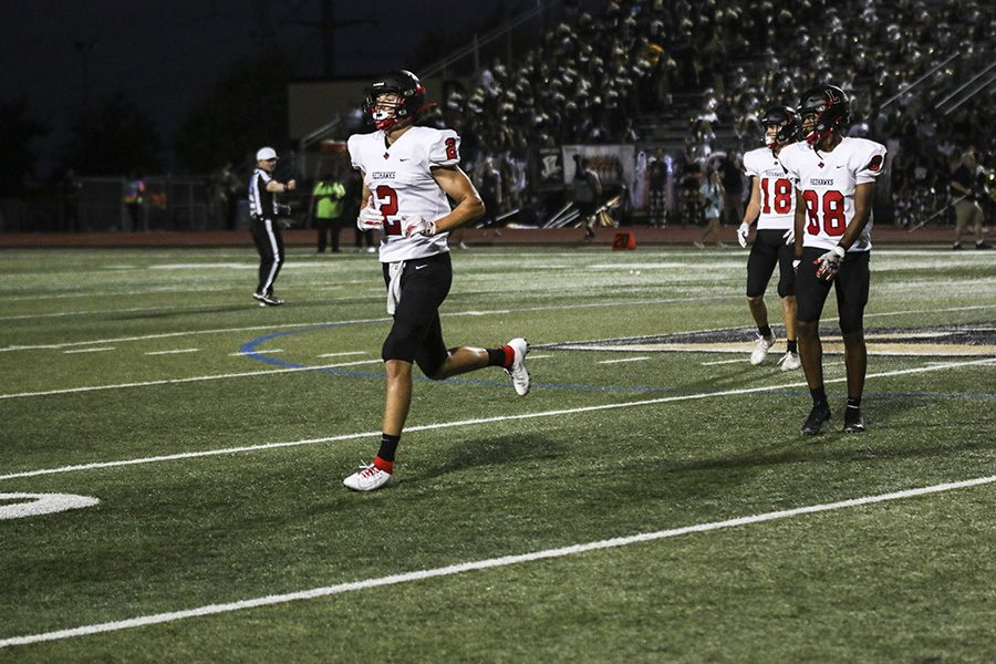 The football team looks to continue their winning streak against Frisco High School Friday night. As the Raccoons and the Redhawks battle for first at Toyota Stadium.