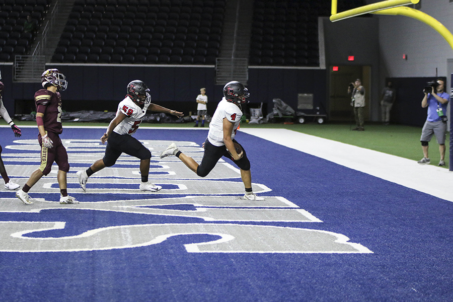 Although the Redhawk's season is coming to an end, they might be recognized during NBC's Sunday Night Football broadcast between the Dallas Cowboys and the Minnesota Vikings as video crews will be at Friday's game against Wakeland at the Ford Center. Weekly, NBC highlights high  school football moments, giving Redhawks a chance to be in the spotlight.