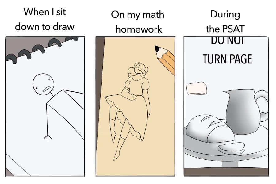 Comic: drawing