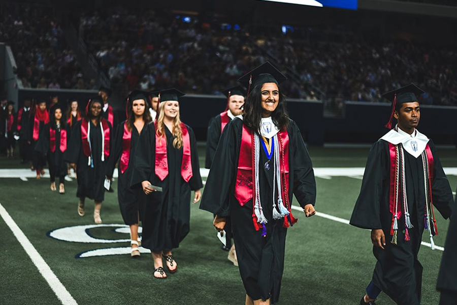 For a few seniors on campus, they will be receiving their diploma just after the first semester. For some this means starting off their career early, while others plan to get their generals out of the way at Collin College before the fall.