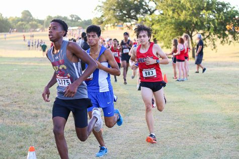 Cross country set sights on district meet