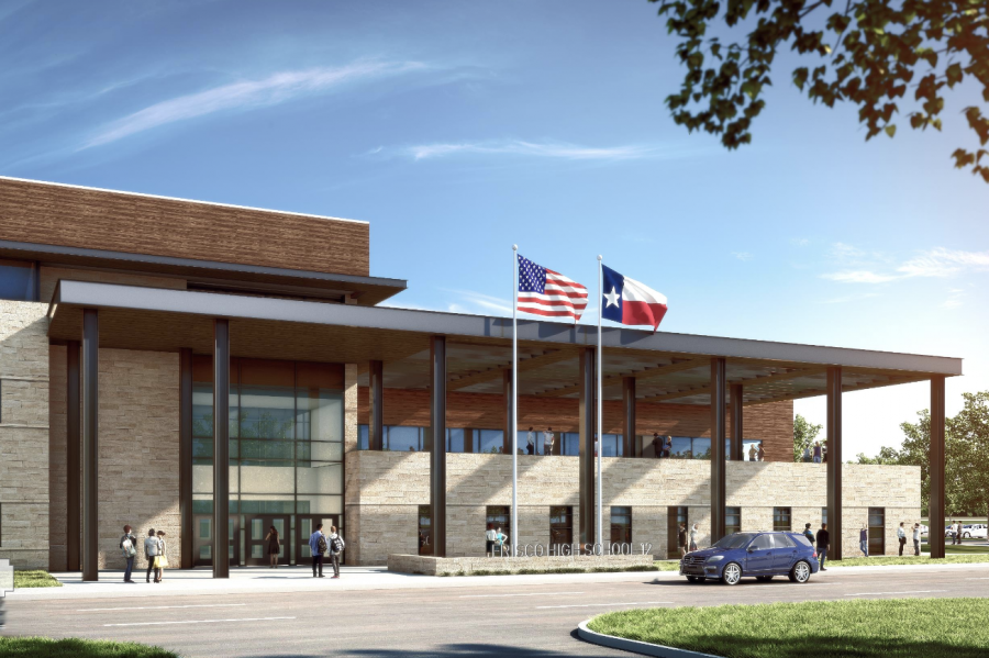 Renderings of Frisco ISD's high school #12 were released after architecture students at the CTE Center were able to give input.