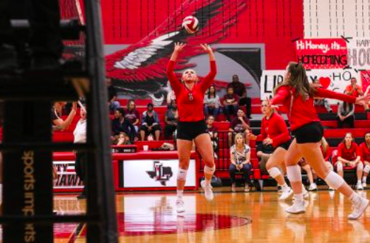 Volleyball currently has a 0-2 losing streak in their district season and hopes to turn it around. The team lost 3-1 to Memorial on Tuesday and is looking to improve based on mistakes from the previous game.