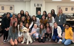 Stabler D'Amore was the focus of attention in the lecture hall in November 2019 as part of the school's counseling session that presented information on how pets can help reduce anxiety.   A 2016 survey found that 74 percent of people who owned a pet reported an improvement in their mental health.