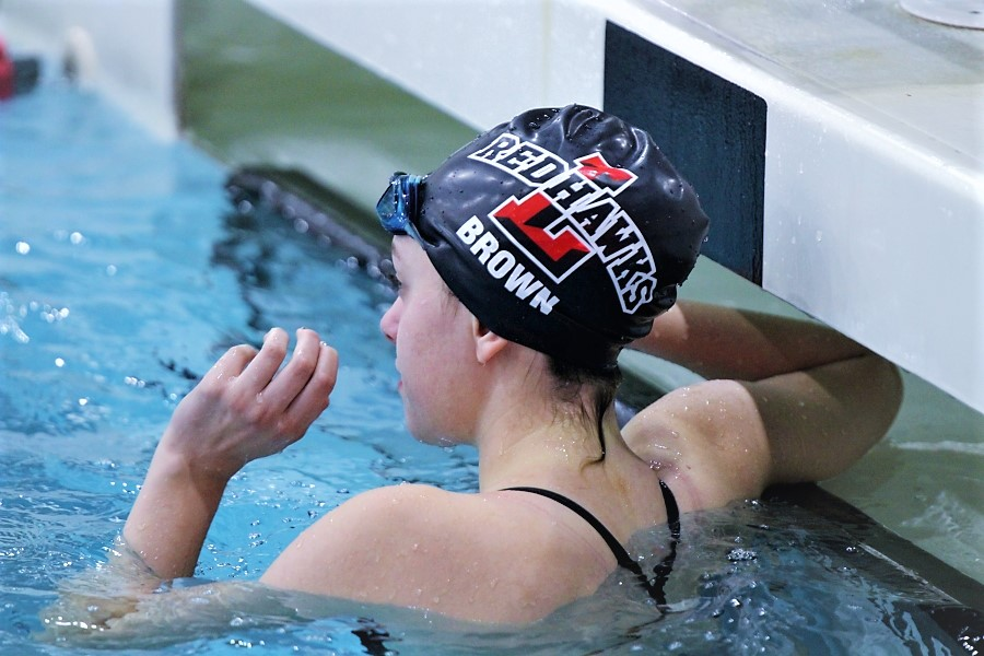 Diving into the weekend two Redhawks will be competing at regionals Friday and Saturday. After preparing all season, both swimmers are hoping for good out comes.