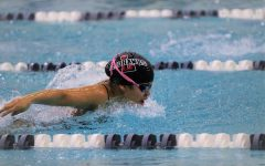 The Redhawks swim team is back in action Thursday night. The team looks to take down the Lions and the Raccoons.